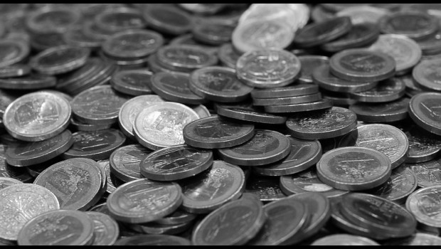 money black white